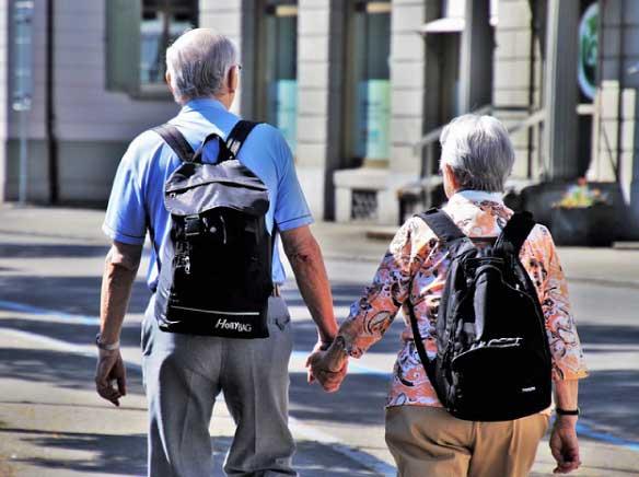 Pensionati in vacanza con un prestito
